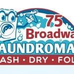 TRUE logo 75 Broadway Laundromat