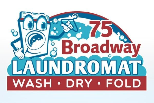 TRUE logo 75 Broadway Laundromat