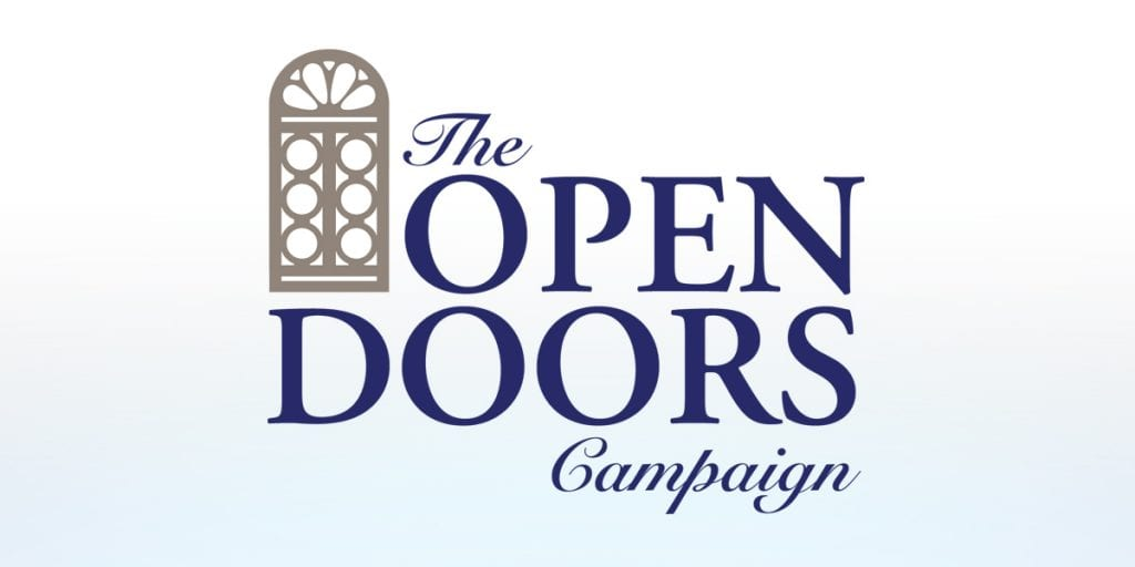 TRUE logo Open Doors Campaign