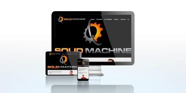 TRUE website Solid Machine