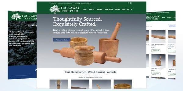 TRUE website Tuckaway Tree Farm